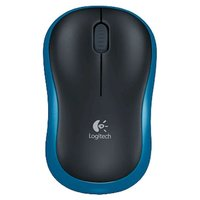 Мышь Logitech M185 dark blue wireless USB (910-002239)